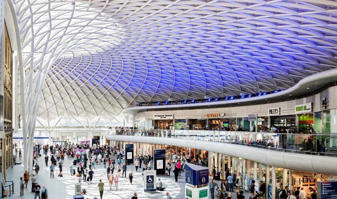 Kings Cross Station design hotspot London