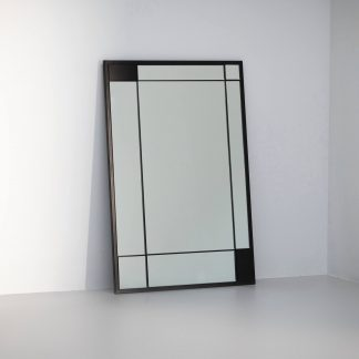 Charcoal finish with standard mirror