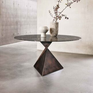 Bespoke Marble Round Dining Table