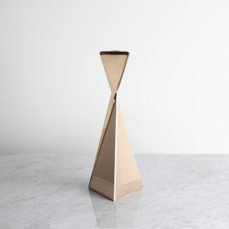 Contemporary Metal Candlestick