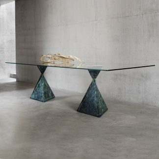 Avalon dining table by Tom Faulkner