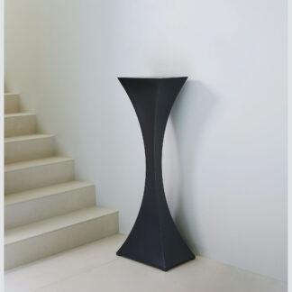 Tall plinth for art