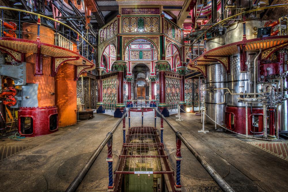 London design hotspots Crossness Pumping Station