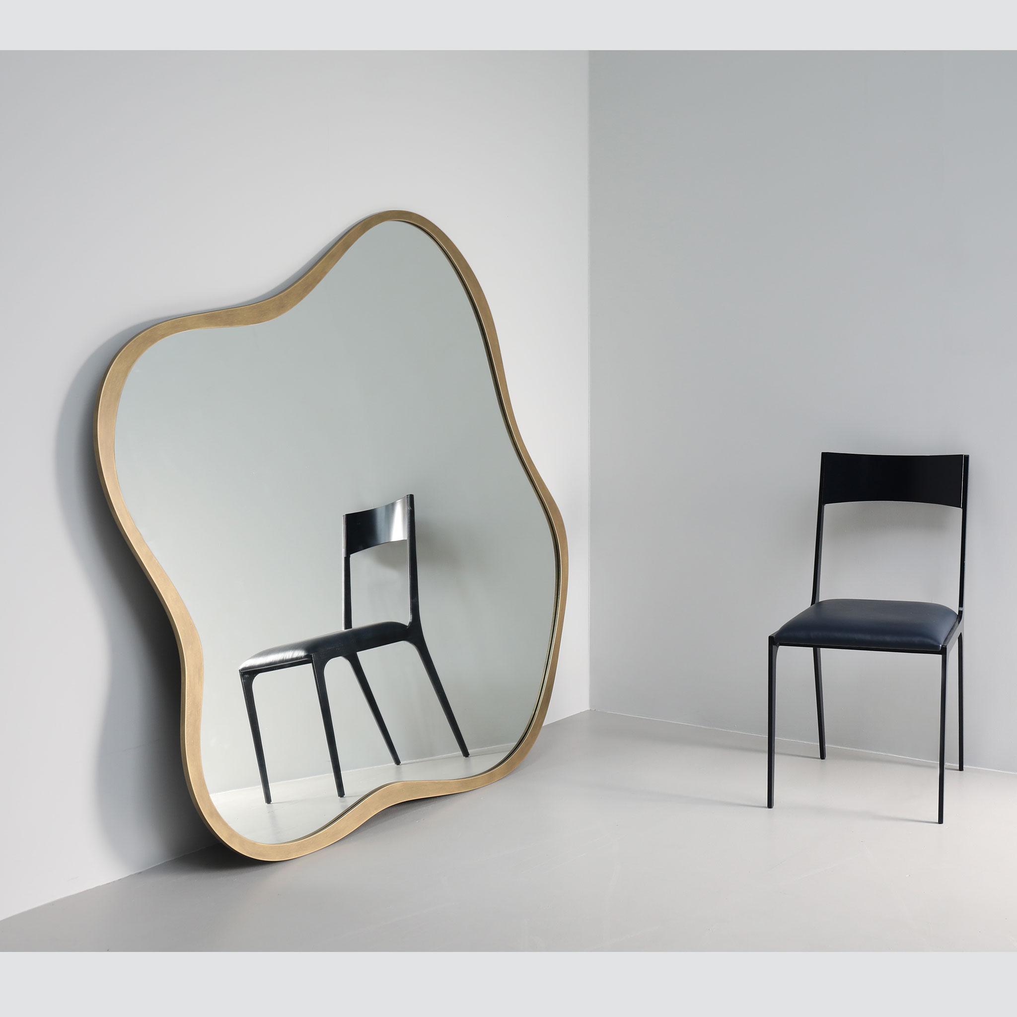 Oversized modern mirror