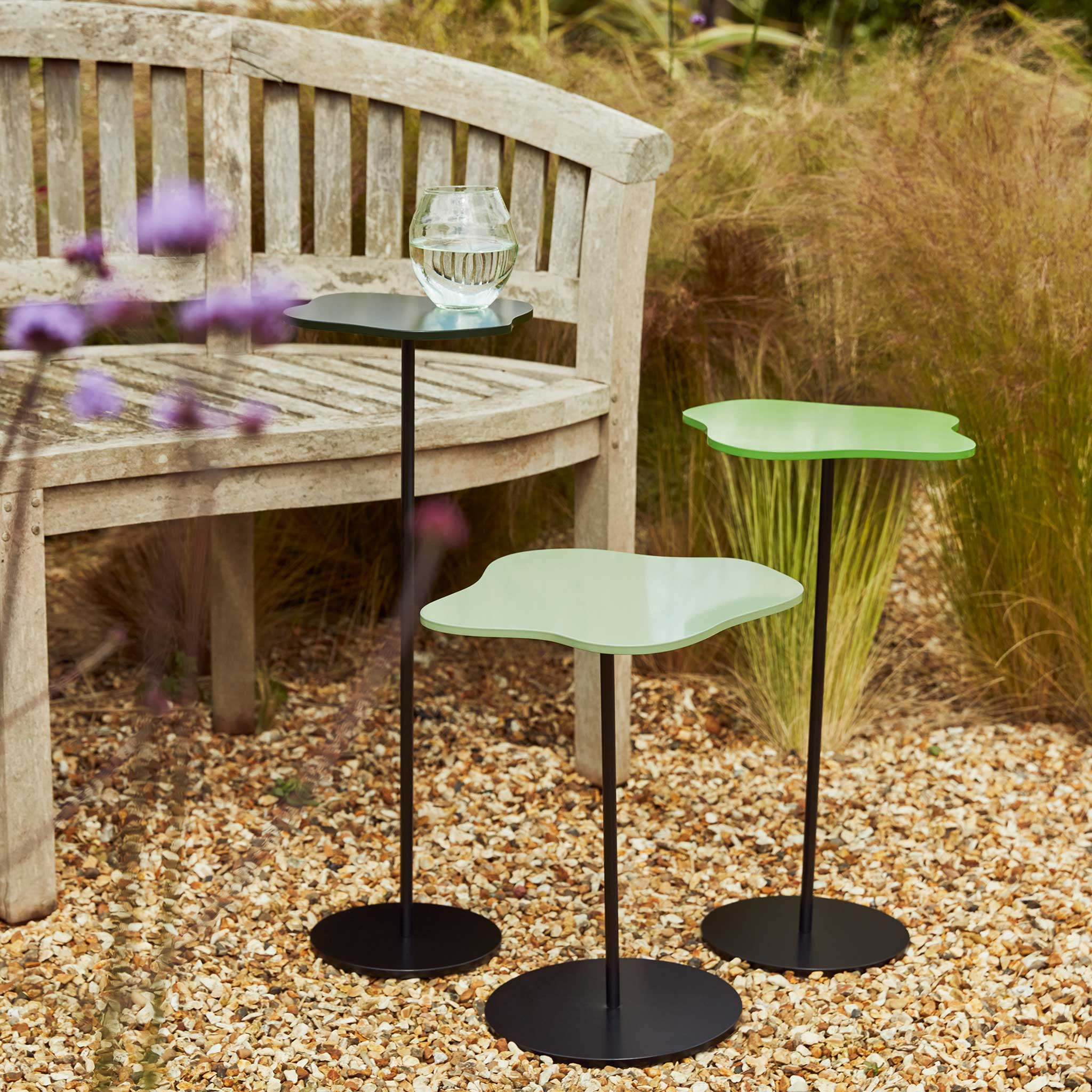 Outdoor cocktail tables