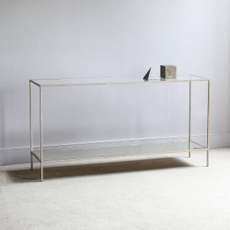 Bespoke Glass Console Table