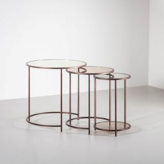 Lexington Nest of tables by Tom Faulkner