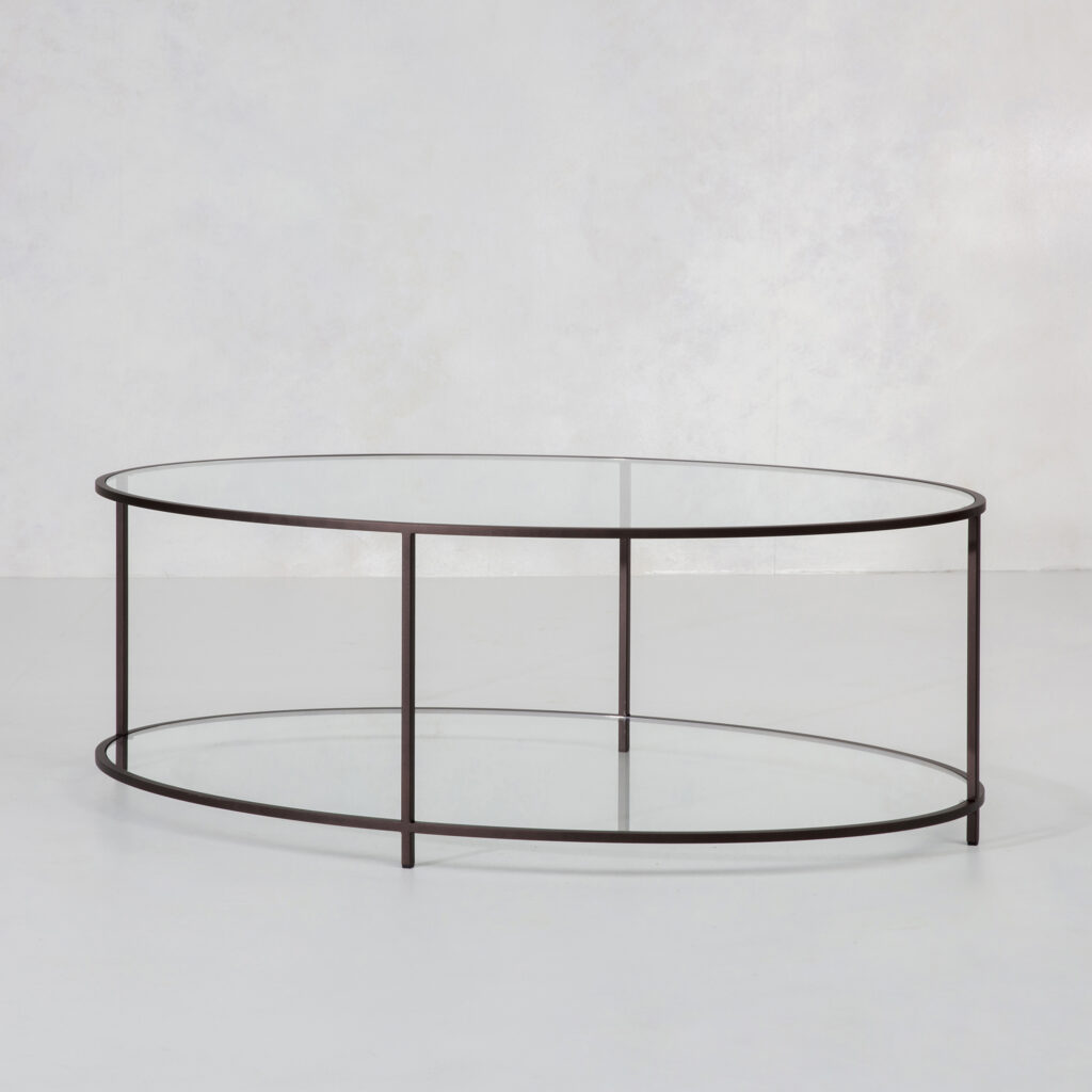 Lexington Ovalround Coffee Table Modern Furniture By Tom Faulkner