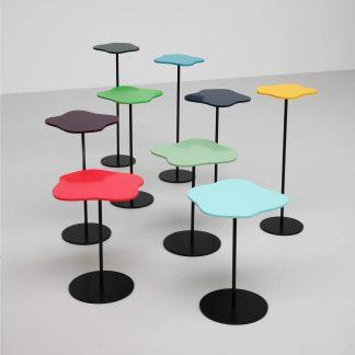 Bright Coloured Garden Tables | Handmade by Tom Faulkner