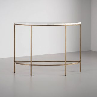 Madison Demi Lune console table by Tom Faulkner