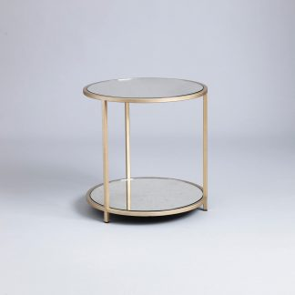Madison round side table by Tom Faulkner
