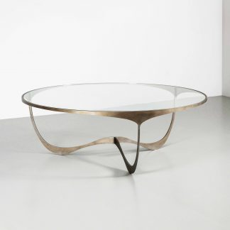 Memphis Round coffee table by Tom Faulkner