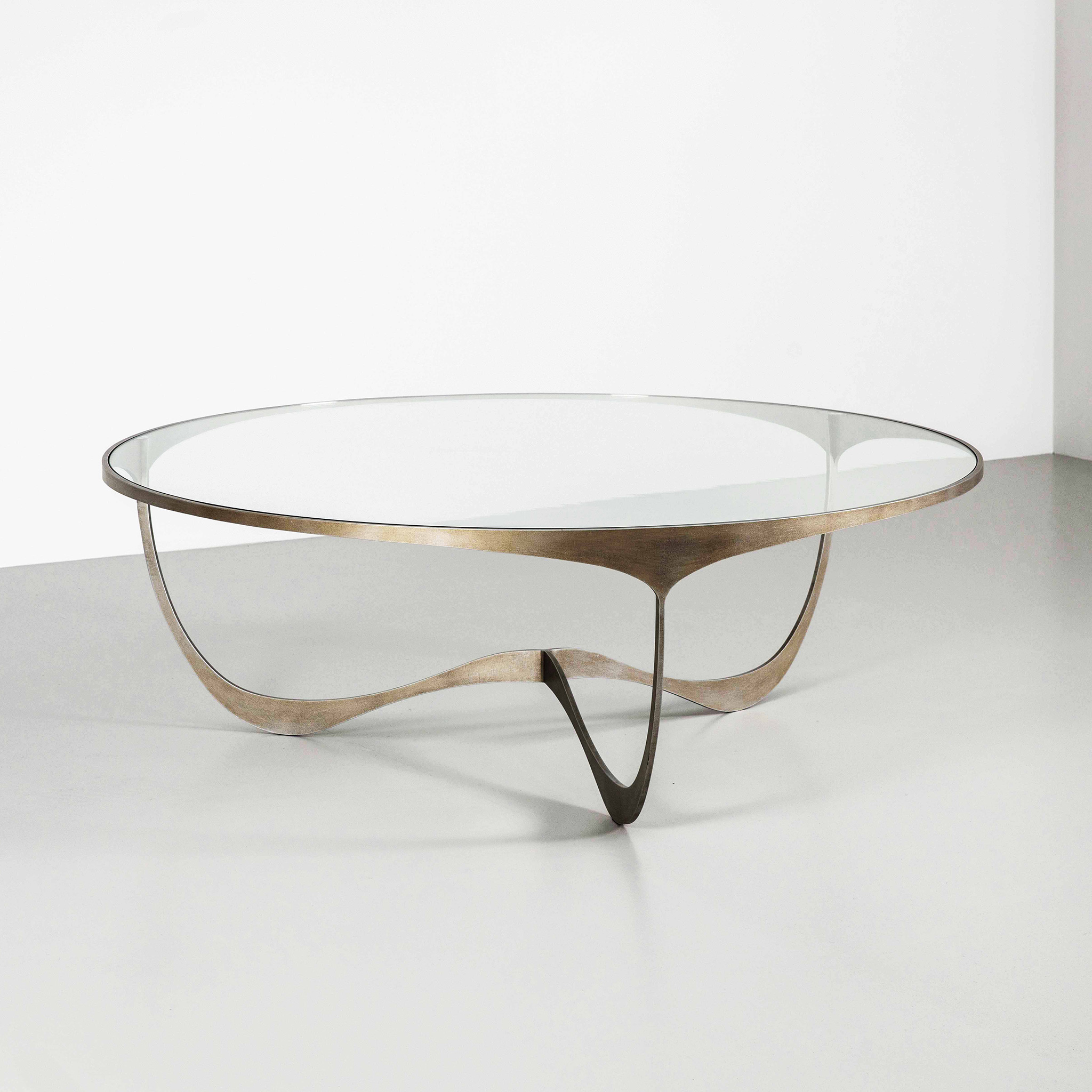 - Memphis Round Contemporary Coffee Table Furniture By Tom Faulkner