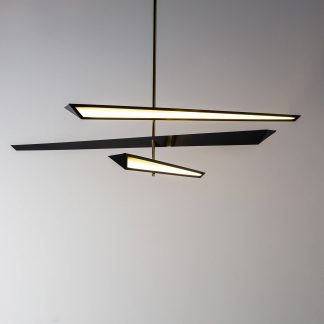 Contemporary chandelier by Tom Faulkner