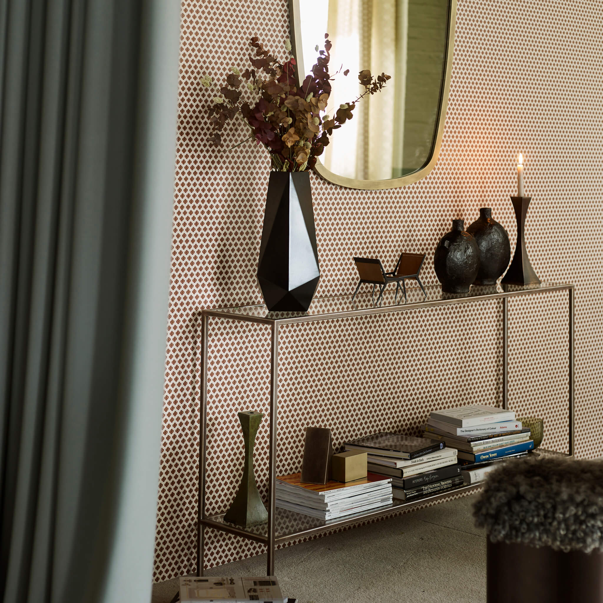 console table hallway