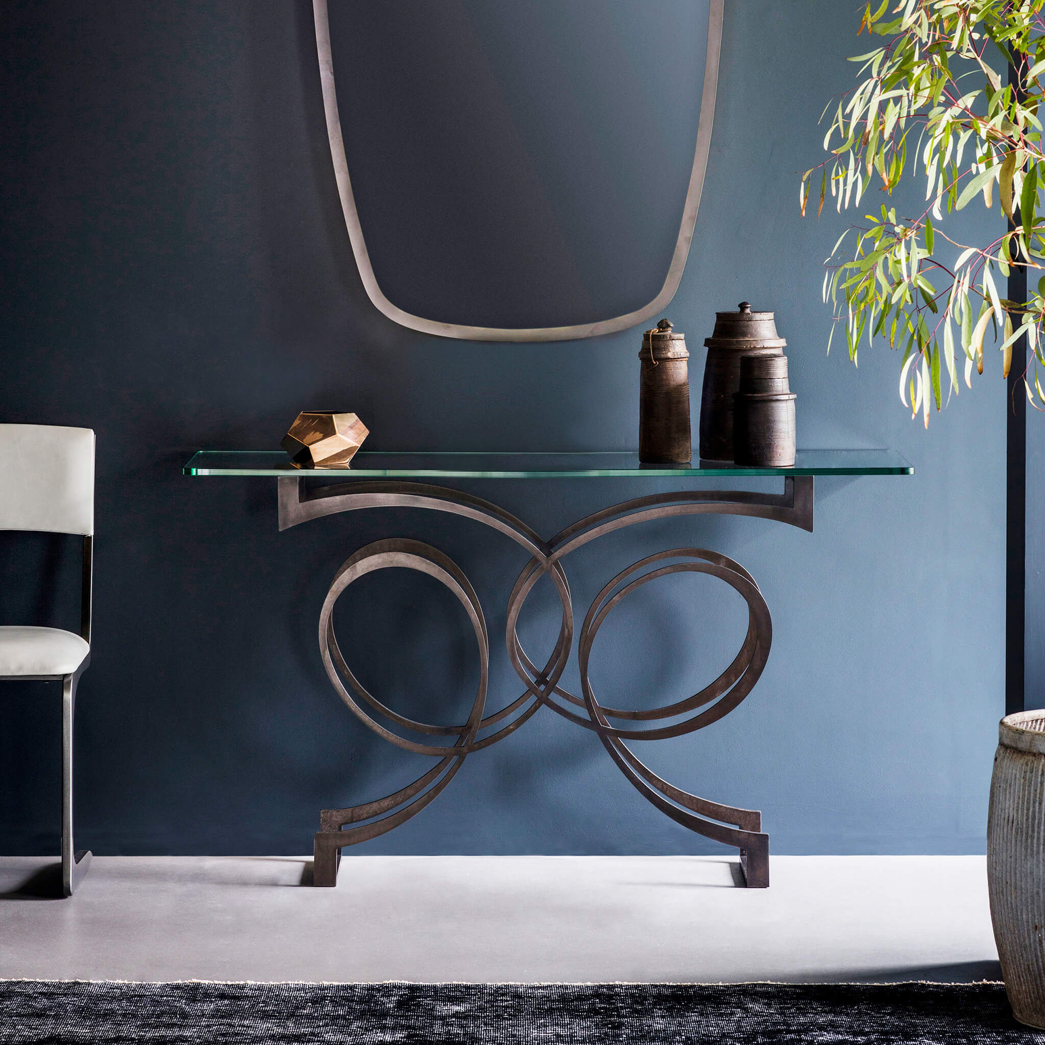 Versailles Console Table | Contemporary Furniture by Tom Faulkner