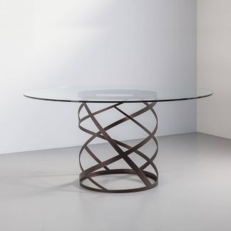 Ariel Round Dining Table | Modern Furniture by Tom Faulkner