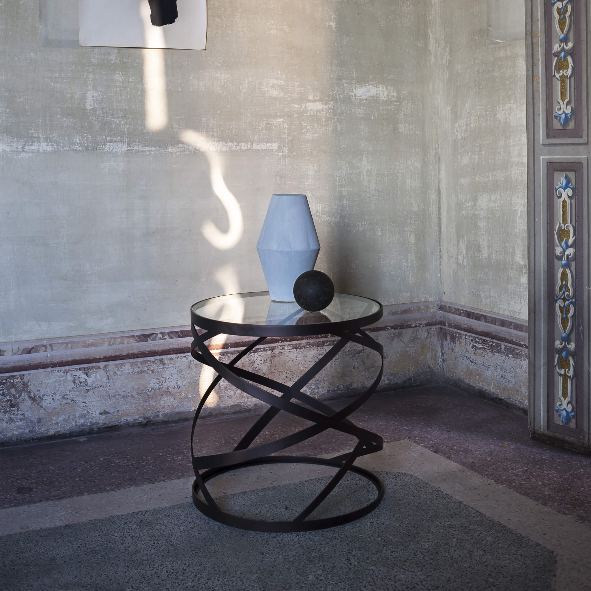 Ariel Round Side Table | Contemporary Furniture by Tom Faulkner