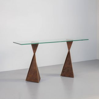 Contemporary console table by Tom Faulkner