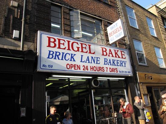 Brick Lane Beigel one of Tom Faulkner's top london food hotspots
