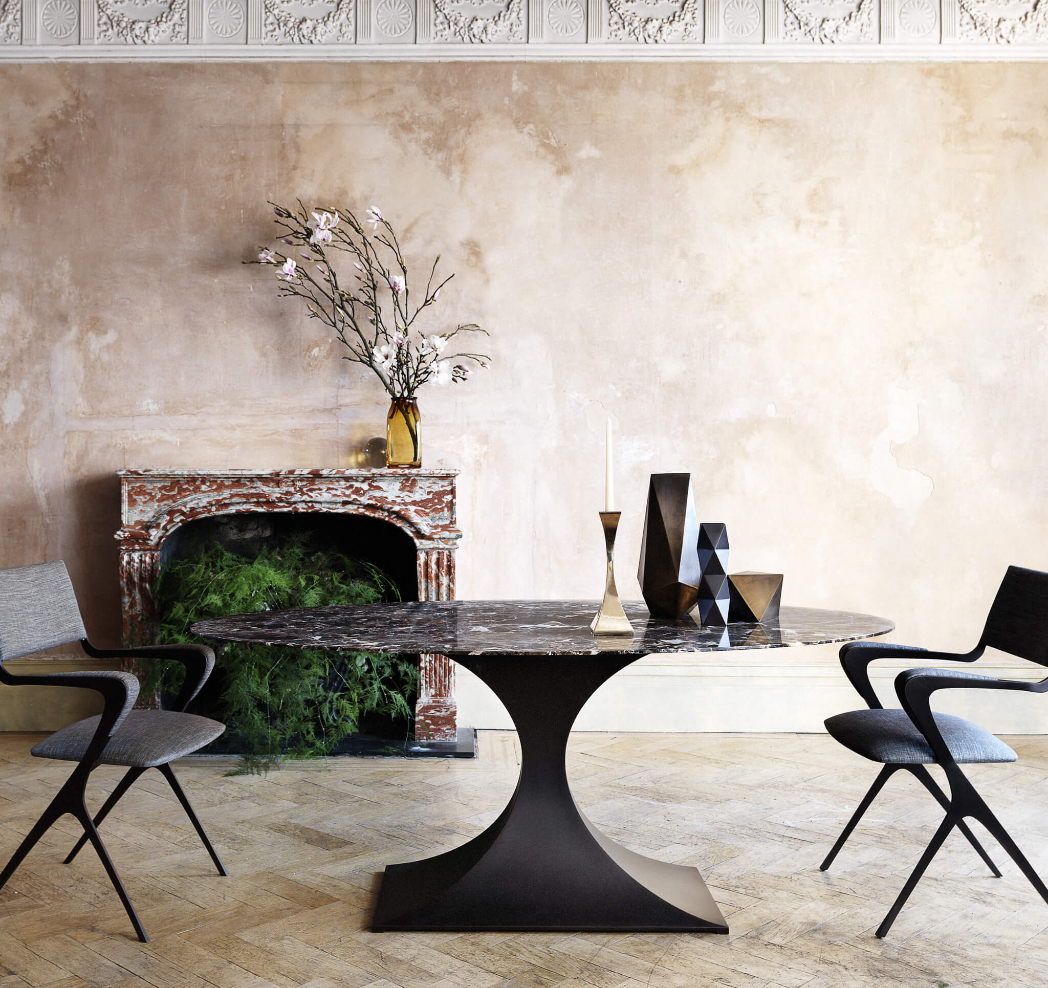 Capricorn Oval Dining Table | Modern Furniture by Tom Faulkner