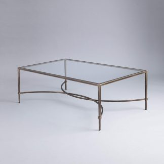 Hanover rectangular coffee table by Tom Faulkner