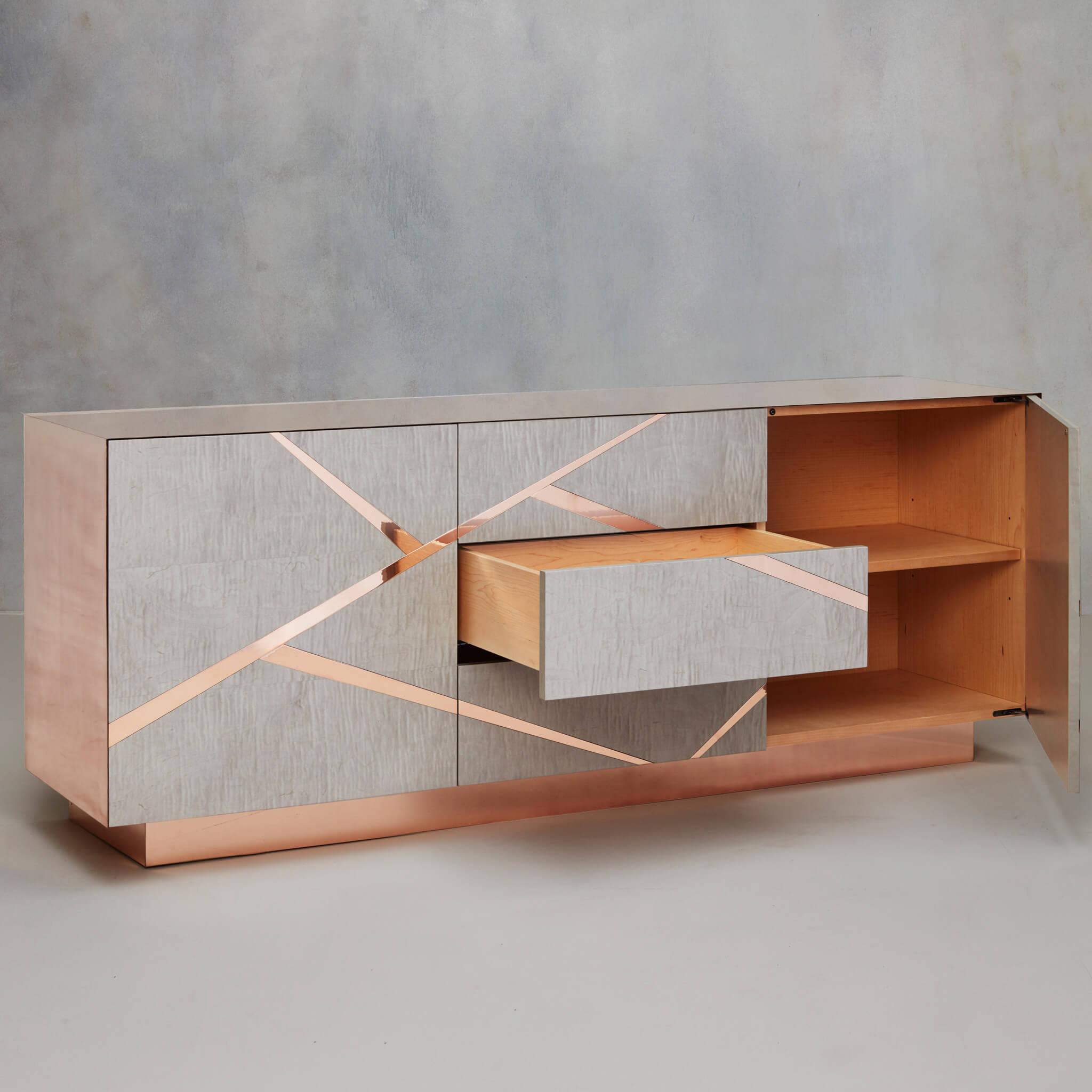Odessa cabinet by Tom Faulkner