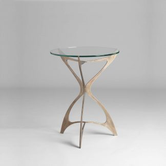 Opera round side table