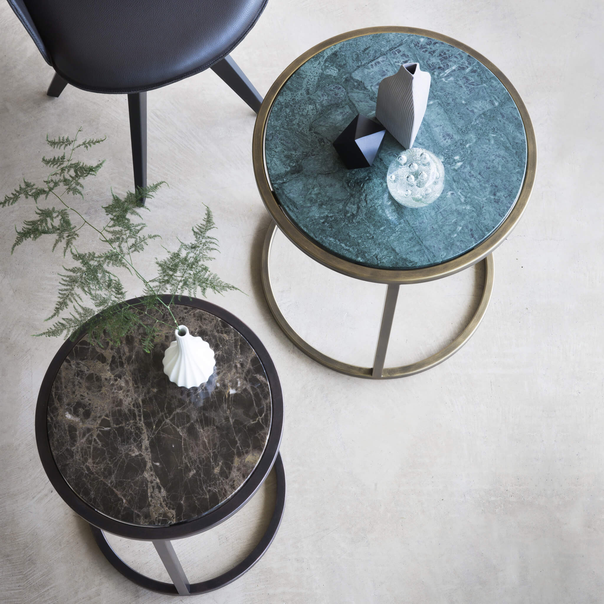 Siena Round Side Table | Modern Furniture by Tom Faulkner
